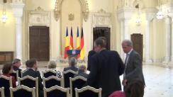 Declarație de presă comună a președintelui României, Klaus Iohannis, și a președintelui Republicii Federale Germania, Joachim Gauck