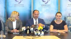 Conferință de presă cu privire la ieșirea HIDROELECTRICA din insolvență