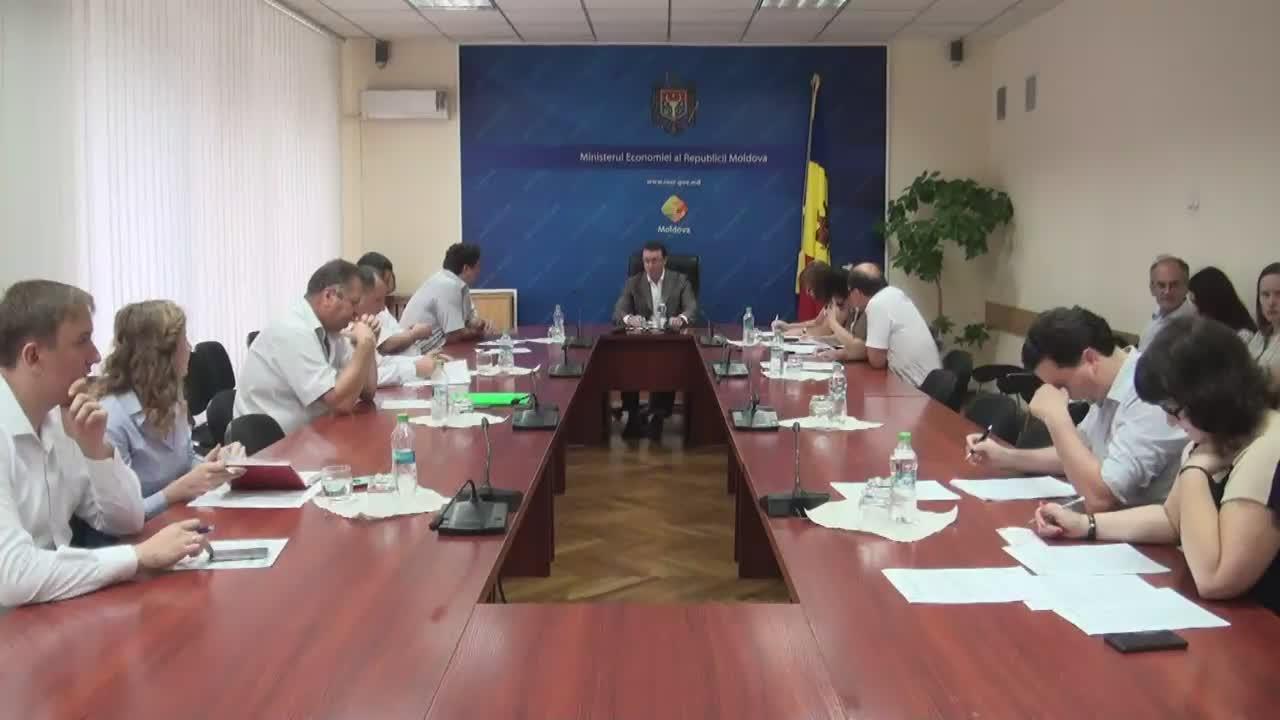 Ședința Grupului de lucru pentru reglementarea activității de întreprinzător din 29 iunie 2016