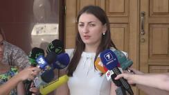 Declarații de presă după audierile lui Ilan Shor
