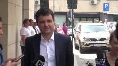 Conferință de presă susținută de președintele Uniunii Salvați Bucureștiul, Nicușor Dan