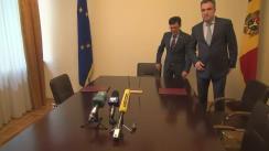 Semnarea Memorandului privind colaborarea între Serviciul Vamal și Inspectoratul Fiscal Principal de Stat