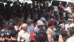 Protest pașnic în susținerea lui Ilan Shor