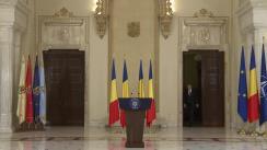 Declarația președintelui României, Klaus Iohannis, după afișarea rezultatelor referendumului Brexit