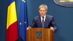 Declarația prim-ministrului României, Dacian Cioloș, după afișarea rezultatelor referendumului Brexit