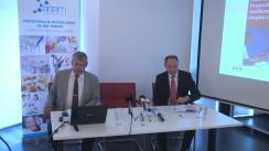 """Conferința de lansare a studiului realizat de PricewaterhouseCoopers Romania cu tema """"Impactul industriei de medicamente inovatoare în România"""""""