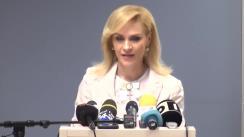Declarații de presă susținute de Primarul General al Capitalei, Gabriela Firea, după întâlnirea cu directorii din Primăria Municipiului București responsabili cu acțiuni privind siguranța cetățeanului