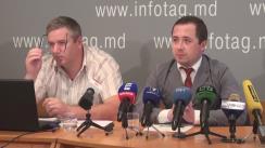 """Conferință de presă organizată de Fondul Opiniei Publice cu tema """"Prezentarea rezultatelor unui sondaj socio-politic"""""""