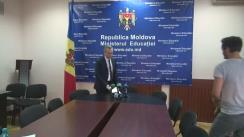 Briefing organizat de Ministerul Educației referitor la rezultatele preliminare ale sesiunii de bază a examenului de bacalaureat