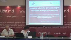 """Conferință de presă organizată de Institutul pentru Politici Publice cu tema """"Impactul crizei din Crimeea asupra securității energetice europene"""""""
