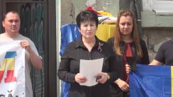 Flashmob organizat de Partidul unionist DREAPTA, consacrat comemorării victimelor ocupației sovietice