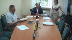 Ședința Comisiei juridice, pentru ordinea publică și activitatea administrației publice locale a Consiliului municipal Chișinău