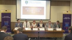 Lansarea Raportului de activitate a Consiliului Concurenței pentru anul 2015