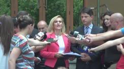 Declarații de presă susținute de Primarul General al Capitalei, Gabriela Firea, în urma întâlnirii cu ministrul Energiei, Victor Grigorescu, și cu managementul ELCEN