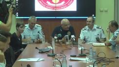 """Conferința de presă aferentă închiderii oficiale a proiectului """"Răspunsul eficient salvează vieți"""""""