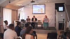 Ședința Clubului Jurnaliștilor de Investigație cu privire la numirea noilor membri ai CEC fără publicarea avizelor consultative ale SIS