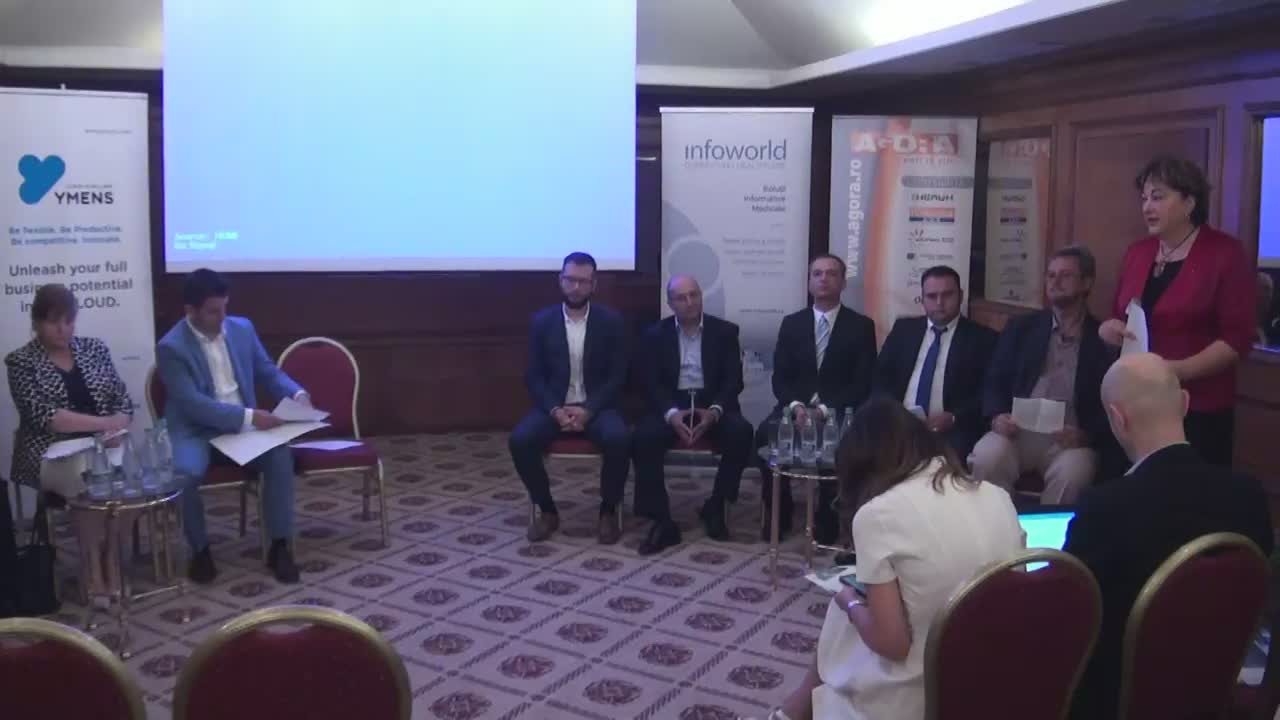 "Dezbaterea ""Big Data -  The Cloud – Analytics – Triunghiul Profitabilității"""