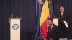 Conferință de presă susținută de ministrul Agriculturii și Dezvoltării Rurale, Achim Irimescu
