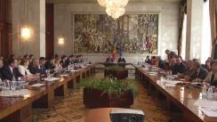 Ședința de lucru comună Parlament - Guvern