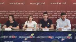 """Conferință de presă organizată de ONOARE, DEMNITATE ȘI PATRIE cu tema """"Reacția unioniștilor la acuzațiile PSRM cu privire la campania de informare la corturi"""""""