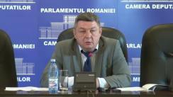Conferința de presă susținută de deputatul neafiliat, Octavian-Marius Popa