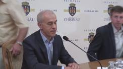 Declarații după ședința săptămânală a serviciilor primăriei Chișinău din 4 iulie 2016