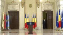 Declarații de presă susținute de președintele României, Klaus Iohannis, pe tema situației create în urma referendumului din Regatul Unit al Marii Britanii