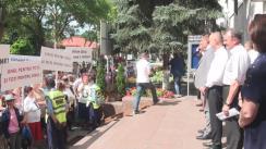 Ședința Consiliului Orășenesc Orhei și Protest contra suspendării primarului Ilan Șor
