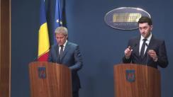 Declarații de presă susținute de premierul României, Dacian Cioloș