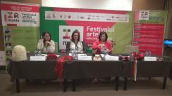 """Conferință de presă prilejuită de organizarea celei de-a IV ediții a festivalului """"IA MANIA"""""""