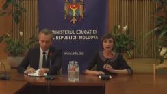 Conferința de presă privind rezultatele sesiunii de bază a examenului de bacalaureat