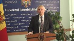 Declarațiile lui Nicolae Eșanu după ședința Guvernului Republicii Moldova din 6 iulie 2016