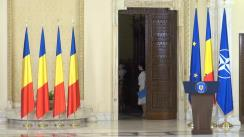 Ceremonia de depunere a jurământului de învestitură a noilor miniștri