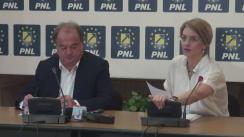 Declarații de presă susținute de Co-președinții PNL, Alina Gorghiu și Vasile Blaga