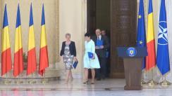 Ceremonia de depunere a jurământului de învestitură în funcția de judecător al Curții Constituționale a doamnei Livia Doina Stanciu, și a domnilor Varga Attila și Marian Enache