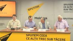 """Conferința de presă pe tema """"De ce deputații trebuie să decidă ce să privească spectatorul moldovean?"""""""
