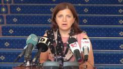 Declarații de presă susținute de Ministrul justiției, Raluca Prună, ca urmare a videoconferinței cu directorii penitenciarelor din întreaga țară
