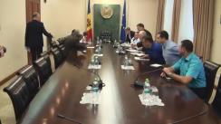 Ședință de urgență convocată de prim-ministrul Pavel Filip pe marginea situației din Turcia (imagini protocolare)