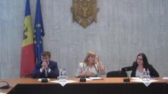 Prezentarea pentru deputați a studiului de dezvoltare a votării electronice în Republica Moldova