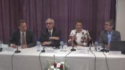 """Conferința de presă finală a proiectului """"Îmbunătățirea calității serviciilor în unitățile de terapie intensivă pediatrică prin implementarea unui program de formare"""""""