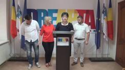"""Conferință de presă a Partidului unionist DREAPTA cu tema """"Parada militară în PMAN cu participarea militarilor ruși - risipă de bani publici și ofensa demnității naționale românești"""""""