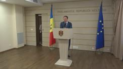 Declarațiile lui Andrian Candu în timpul ședinței Parlamentului Republicii Moldova din 22 iulie 2016