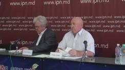 """Conferință de presă susținută de Fiodor Ghelici cu tema """"Pensionar, a intentat proces privind recuperarea daunei morale în sumă de 10 000 000 de lei"""""""