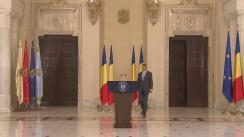 Declarația președintelui României, Klaus Iohannis, după ședința Consiliului Suprem de Apărare a Țării