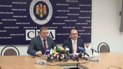 Conferință de presă organizată de Procuratura Anticorupție și CNA privind fraudele din sectorul financiar-bancar
