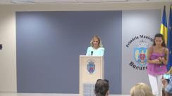 Declarații de presă susținute de primarul General, Gabriela Firea, pe tema stadiului în care se află proiectele Pasajul de la Piața Sudului și Penetrația A1-Ciurel-Splaiul Independenței