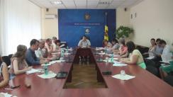 Ședința Grupului de lucru pentru reglementarea activității de întreprinzător din 27 iulie 2016