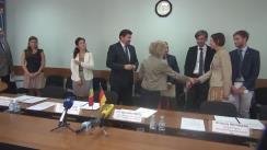 """Semnarea acordului de implementare a proiectului """"Reforma Structurală în învățământul profesional tehnic în Republica Moldova"""""""