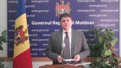 Declarațiile lui Octavian Calmîc după ședința Guvernului Republicii Moldova din 27 iulie 2016
