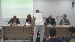 """Conferința de presă prilejuită de finalizarea proiectului """"Îmbunătățirea calității serviciilor de urgență spitalicești și prespitalicești prin dezvoltarea și implementarea unui program de formare"""""""